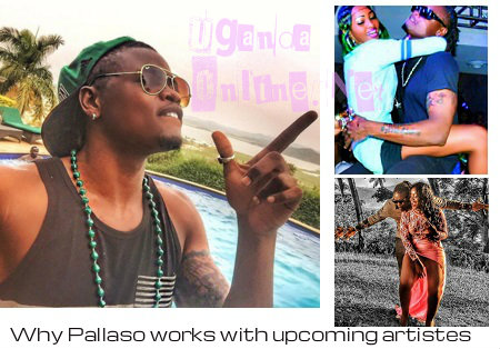 Pallaso reveals why he works with upcoming artistes