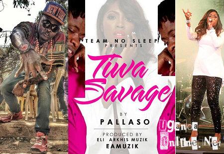 Pallaso composes a Tiwa Savage song