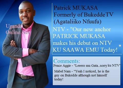 Patrick Mukasa formerly of Bukedde TV now on NTV