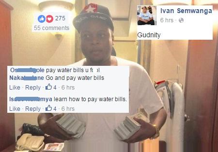 Pay your water bills, Ssemwanga told