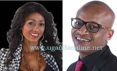 South African model Babalwa aka Barbz from South Africa and Jackson Makini aka Prezzo from Kenya