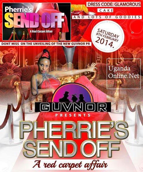 Pherrie Kim's send off party