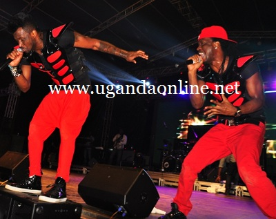 P-Square in action at Lugogo on Dec 21, 2012