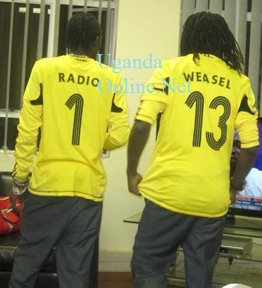 Moze Radio and Weasel in South Africa in 2011