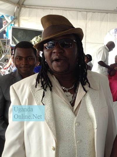 Ragga Dee at Geoffrey Lutaaya's wedding in Masaka