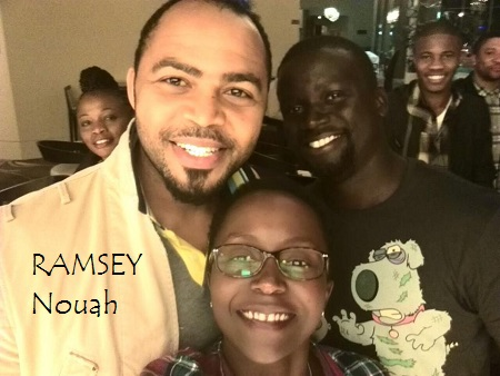 Ramsye Nouah, Anne and her lover, Ojok at the awarding event