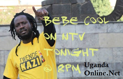 Bebe Cool on NTV tonight