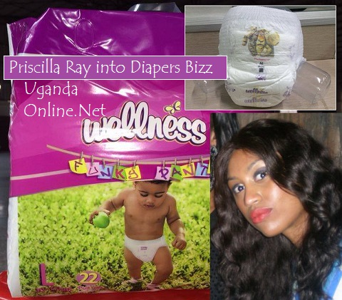 Priscilla Ray into Diapers Business