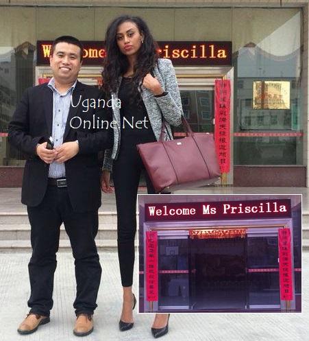 'Welcome Ms Priscilla'