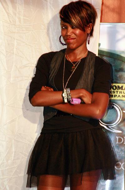 Rachel at Club Silk-Urban Rock Gashion Nite