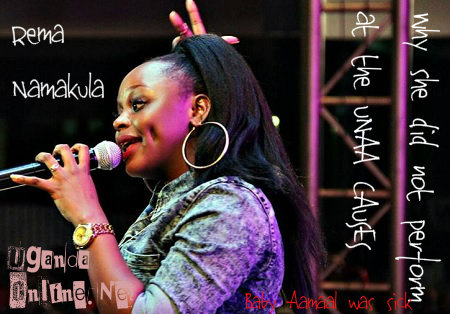 Rema Namakula was forced to cancel her US visit