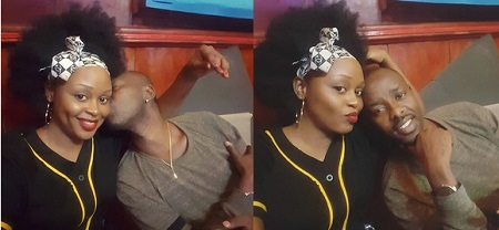 Kenzo plants a hot one on Rema's left cheek