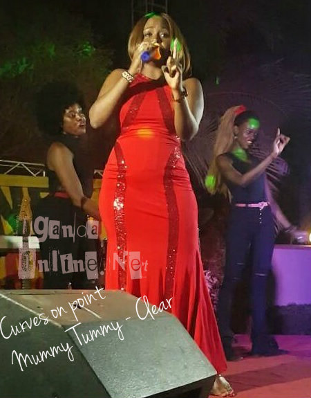 Rema performing at Freedom City on Valentine's day