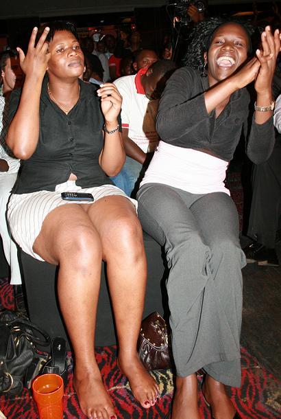 Revellers at Omulangira Suuna and Jamala unplugged show