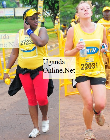 Participants at the MTN  Marathon 2013