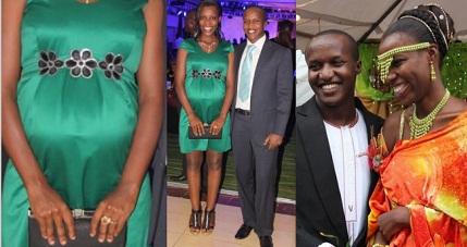 Rahma Mbabazi and Patrick Kanyomozi