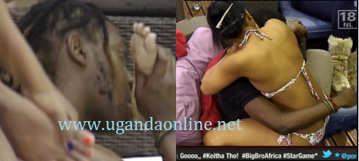 Roki leaks at Junia's feet while Maneta is yearning for a piece of Keitta