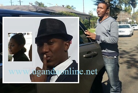Roger Mugisha while in the US hooked up with this mystery babe
