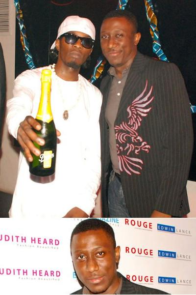 GNL and Roger Mugisha at the ElytMag Party