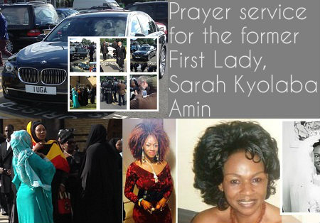 Prayer service for Sarah Amin held in London