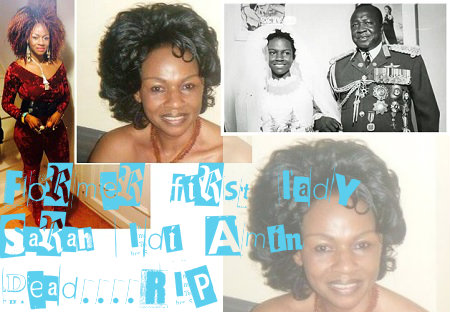Sarah Kyolaba Idi Amin dead