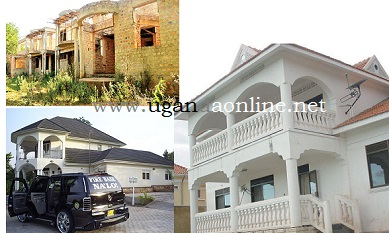 Bebe's unfinished house compared to Bobi's and Jose Chameleone