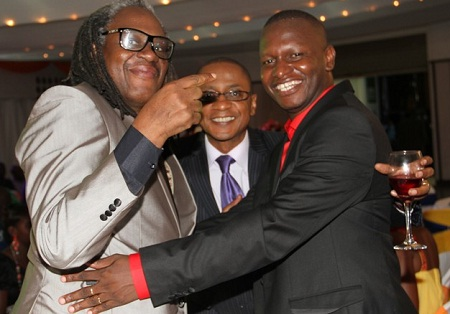 Alex Ndaula, Peter Sematimba and Joel Isabirye
