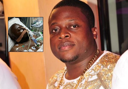 Inset is Ivan Semwanga's pic doing rounds on social media