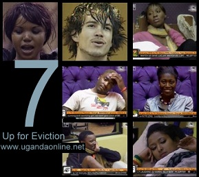 Kim, Wendall, Millicent, Lomwe, Vimbai, Otono (Luclay) and Hanni are up for eviction in the second last week