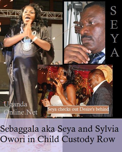 Fashionista Sylvia Owori and Sebaggala in child custody row