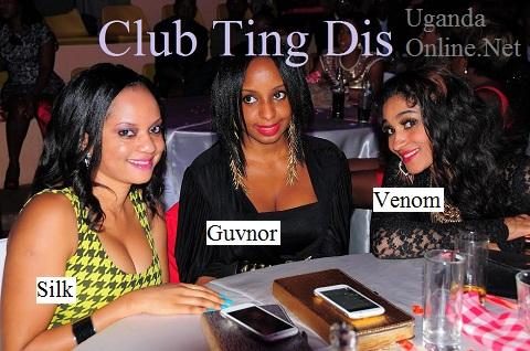 Publicists Linda of Club Silk, Pherrie Kim and Venom's Nickita