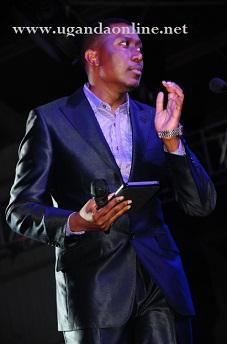 Roger Mugisha was one of the PAM Awards MC's