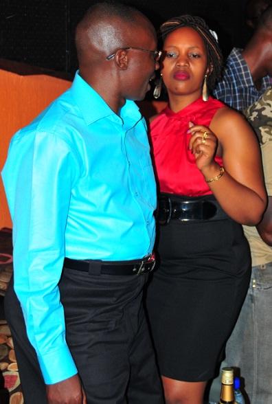 Shem Semambo dancing the night away