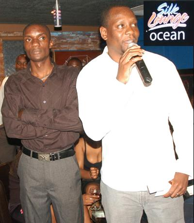 Elvis Sekyanzi at the launch of Silk Lounge Ocean