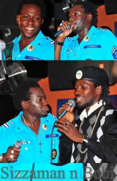 Sizzaman and Bobi Wine at Club Silk