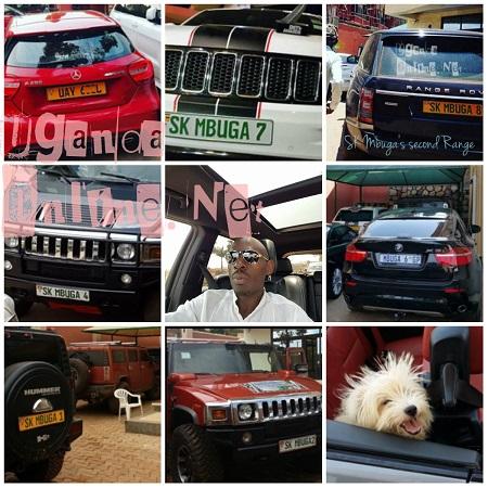 SK Mbuga's rides at a glance