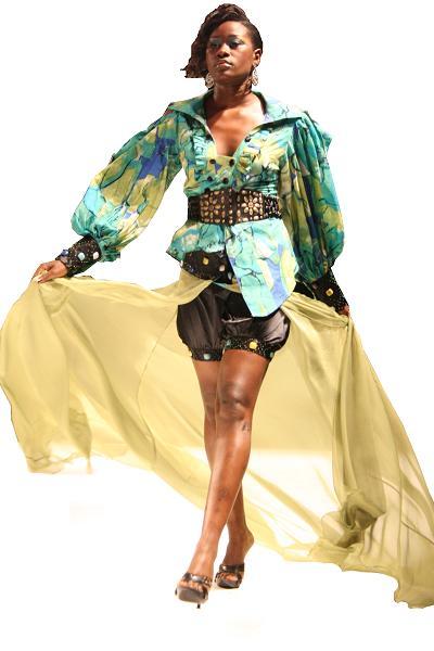 Sylvia Owori Model