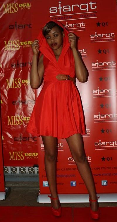 Uganda's representative in the Miss Asia Pacific pageant