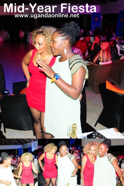 Sylvia Owori and Zari during the Mid-Fiesta Party