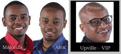 Malonza, Alex and Prezzo are representing Kenya in the Big Brother StarGame