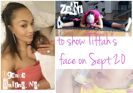 Tiffah's face will be unveiled on Sept 20