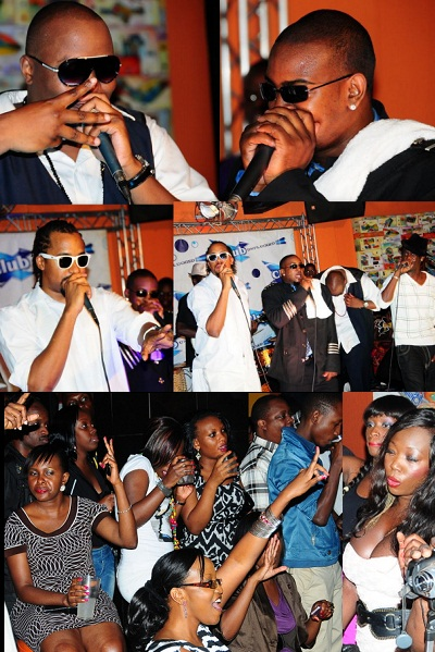 The Klear Kut's performing at Club Silk