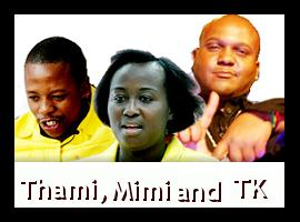 Thami, Mimi and TK are up for eviction