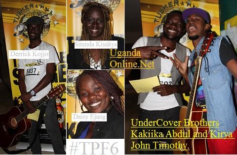 Derrick Kojjo, Sitenda Kisakye, Daisy Ejang and the Undercover Brothers