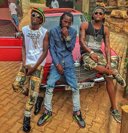 Chameleone, Moze Radio and Pallaso