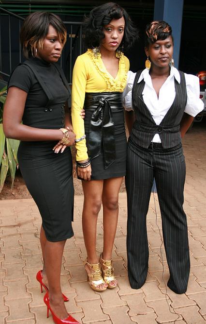 Jackie, Mya and Lilian of Blu 3