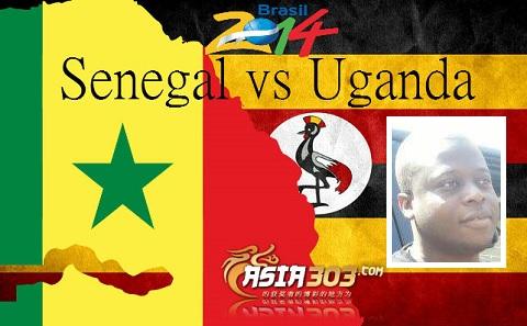 Senegal VS Uganda in Morocco -7 Sept 2013.