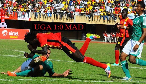 Uganda VS. Madagascar 1:0