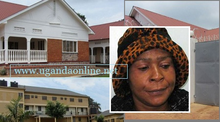 Ruth Nabuguzi was the ring leader of the pounds4m scam. Those are some of the houses she constructed with the money
