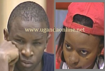 kyle an Jannette representing Uganda in the Big Brother StarGame